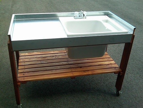 diy outdoor garden sink - Outdoor Garden Sink