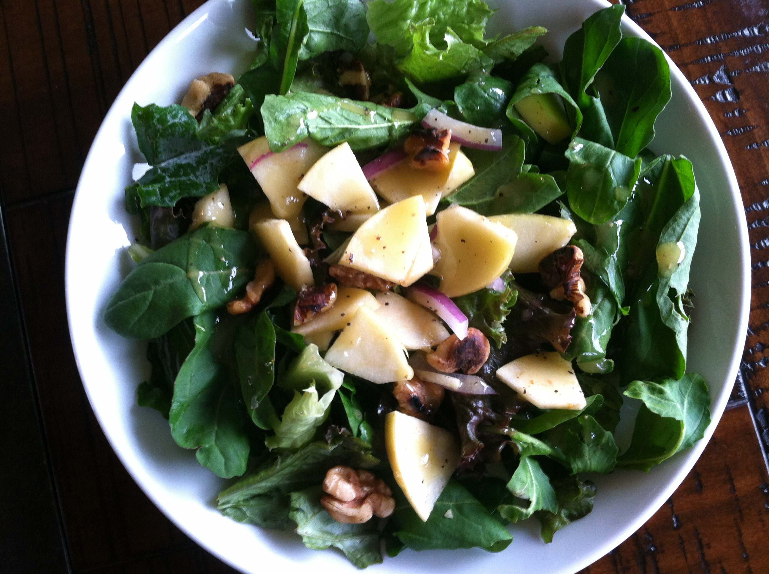 Arugula Apple Fall Salad