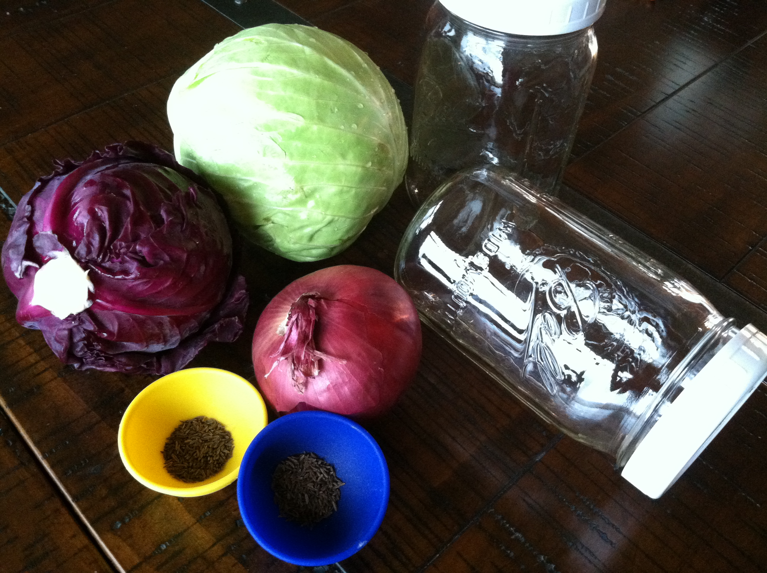 Cabbage Caraway Pickles