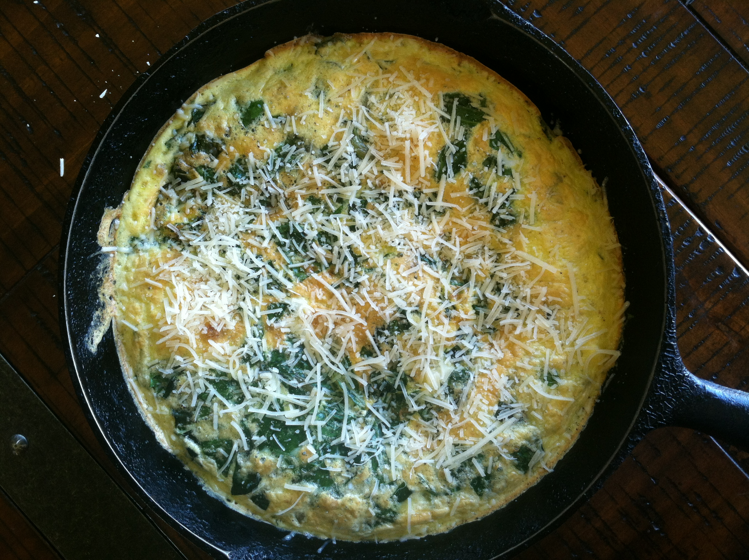 Purple Potato Crusted Frittata