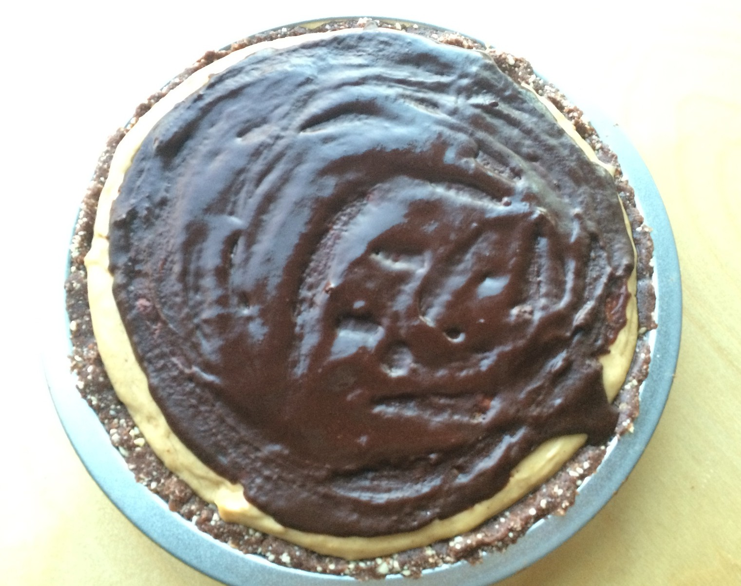 Chocolate Peanut Butter Pie : Gluten, Dairy and Refined ...