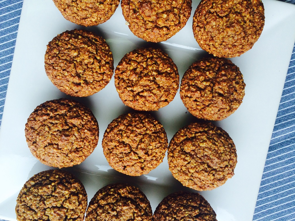 Grain Free Carrot Almond Muffins