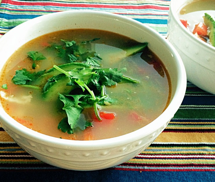 Lime Jalapeno Chicken Soup