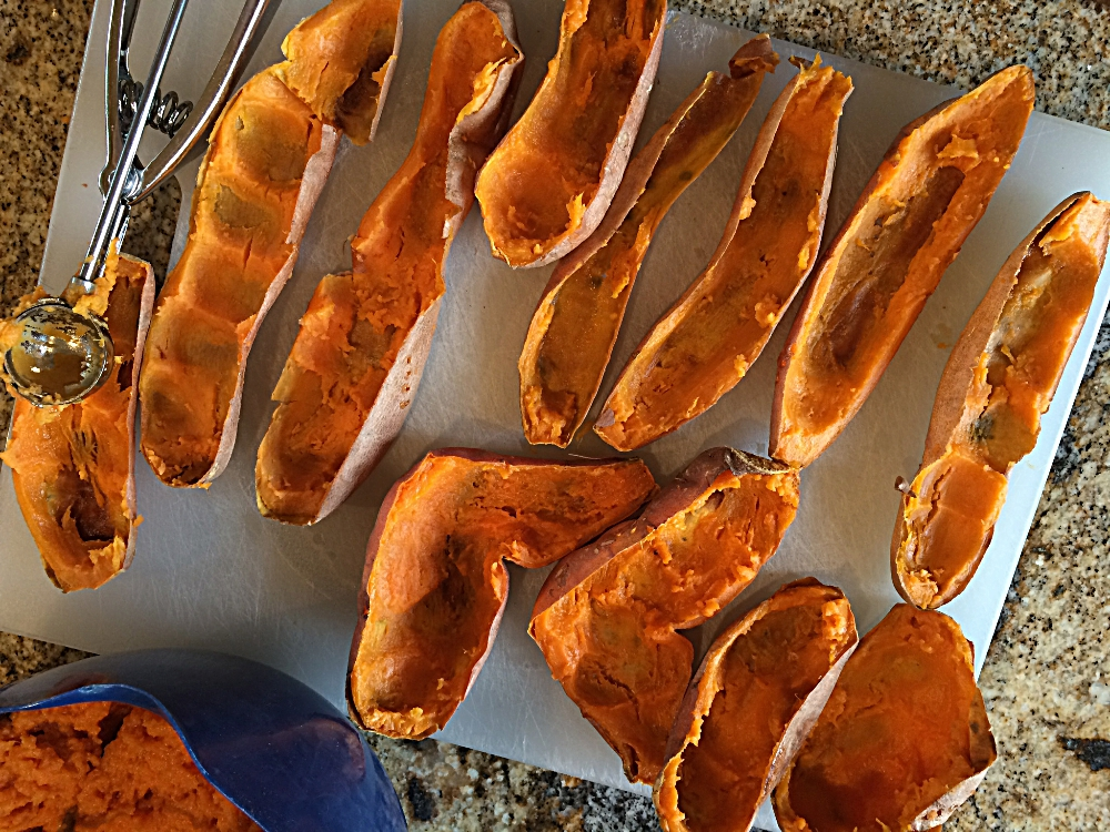 "Make Ahead Freezer Sweet Potato ""Buns"""