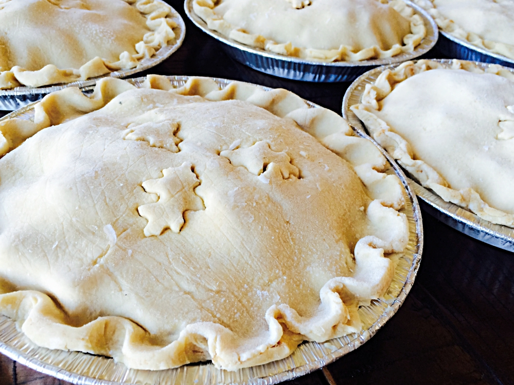 Freeze and Bake Apple Pies