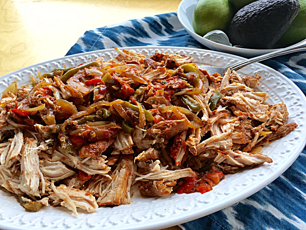 Slow Cooker Chicken Fajita's