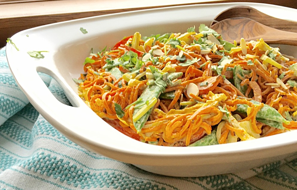 Pad Thai Sweet Potato Noodle Bowl