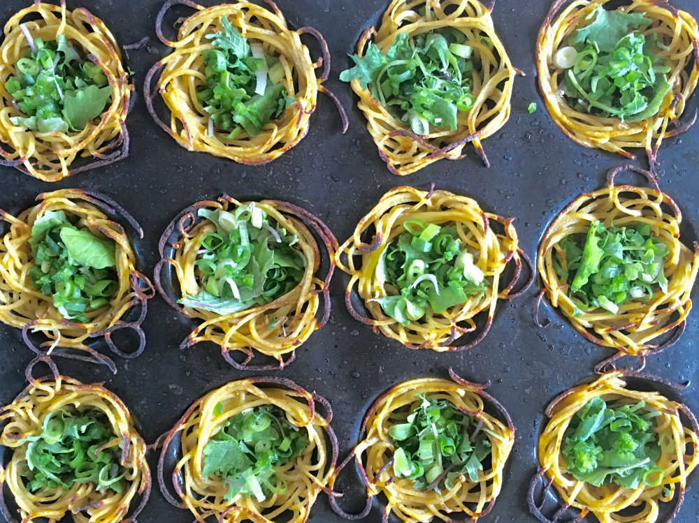 Potato Crusted Egg Cups