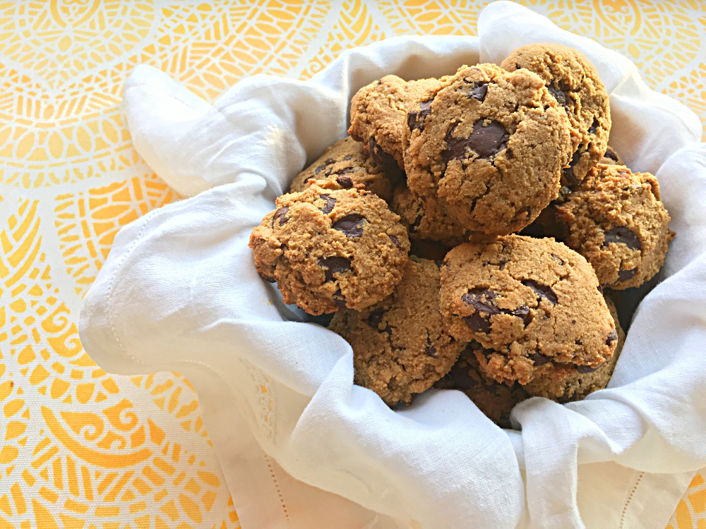 Chocolate Chunk Pumpkin Cookies