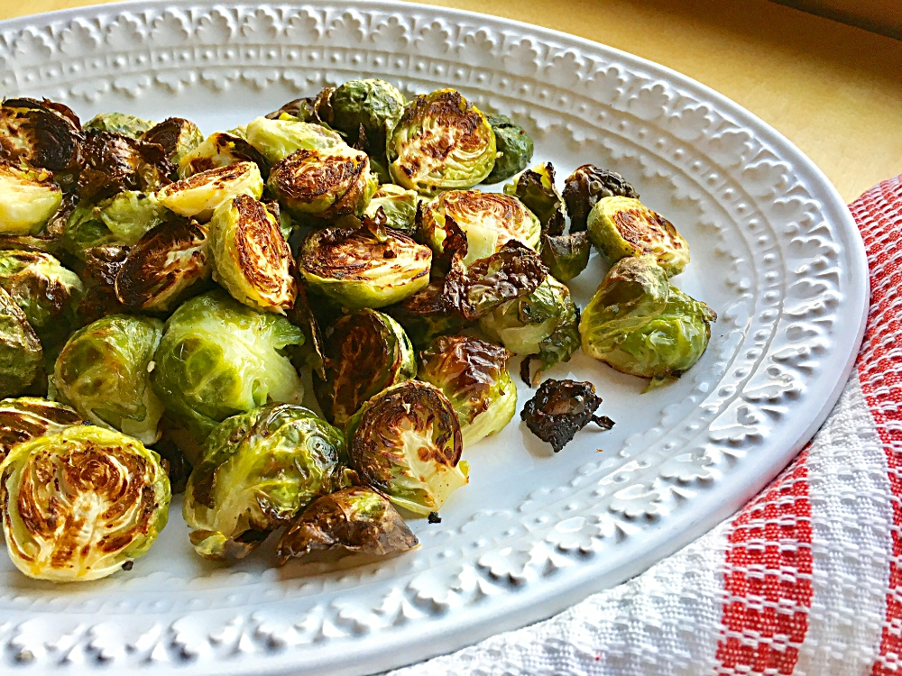 Dijon Roasted Brussels Sprouts