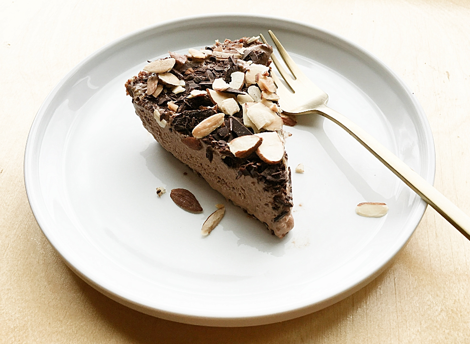 No Bake Chocolate Freezer Pie