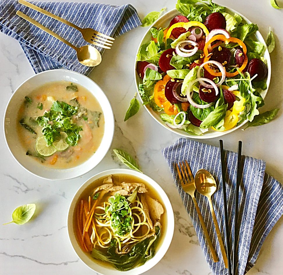 Cooking Class : Hearty Soups and Salads