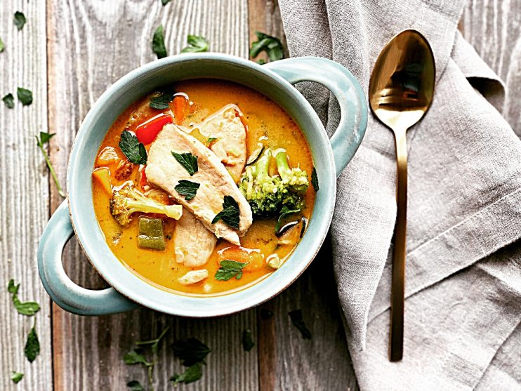 Butternut Squash Thai Curry Stew