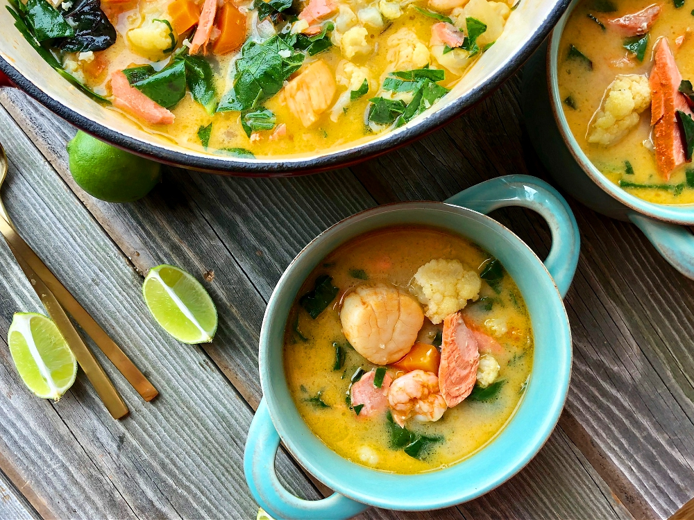 Thai Seafood Stew