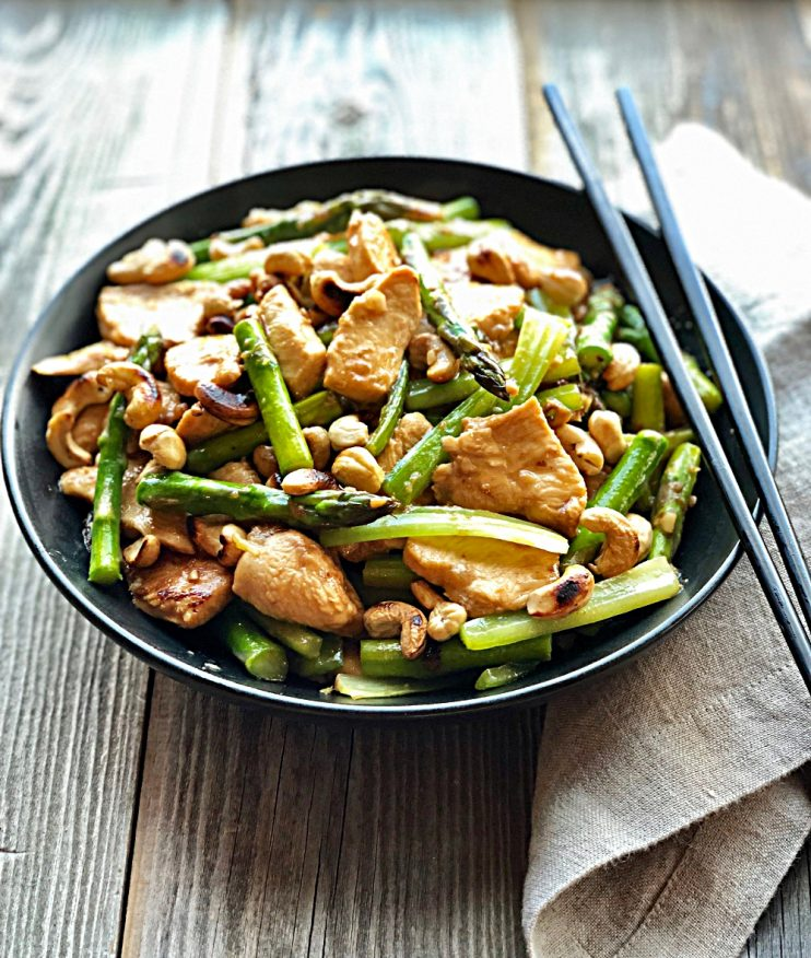 Chinese takeout makeover...a spring cooking class