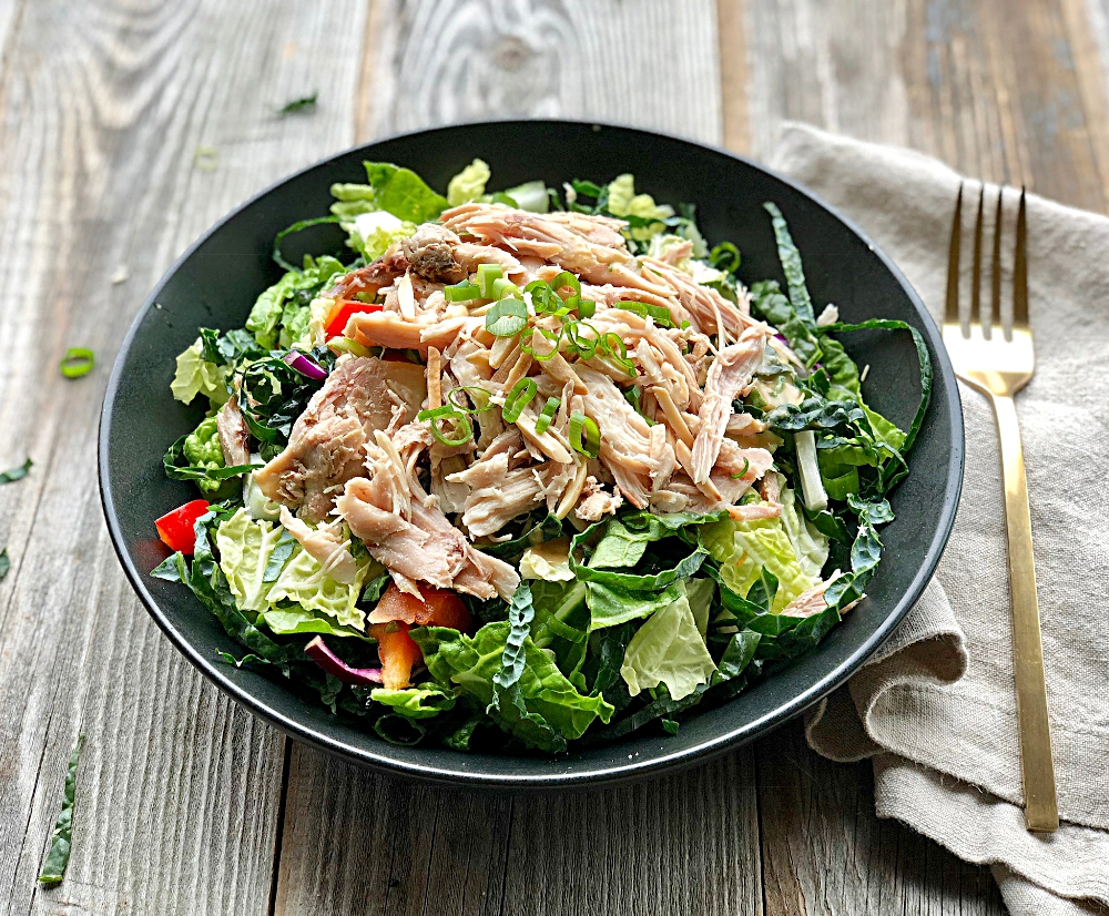 Chinese Chopped Chicken Salad